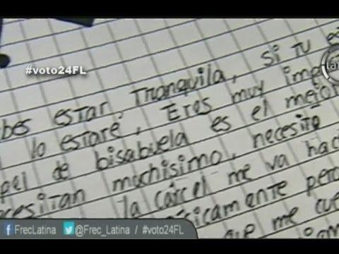 Las cartas de Fernanda Lora desde el penal 'Santa Mónica'