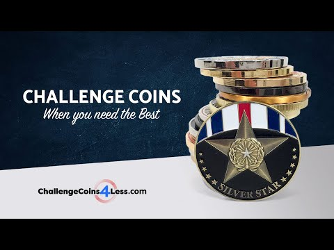 Military & Custom Challenge Coins | ChallengeCoins4Less com