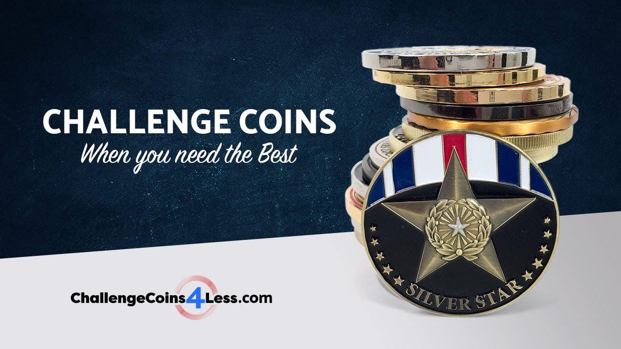 Military & Custom Challenge Coins | ChallengeCoins4Less com