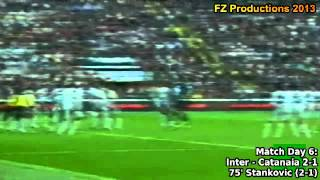 Serie A 2006-2007, day 6 Inter - Catania 2-1 (Stankovic 2nd goal)