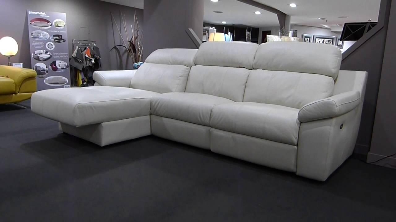 Sofa chaise longue reclinable electrico baci living room - La nube sofas ...