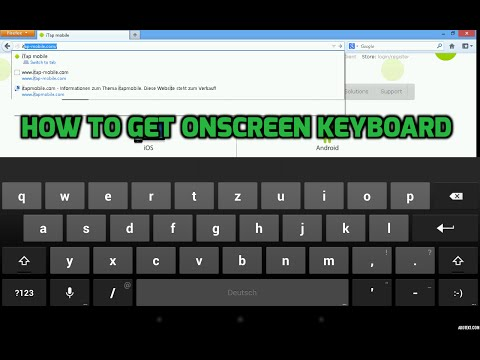 HOW TO ENABLE ONSCREEN KEYBOARD ON ANDROID BOX