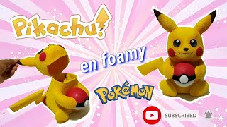 Pikachu en foamy 4D