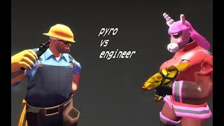 TF2 :  Pyro VS Engineer