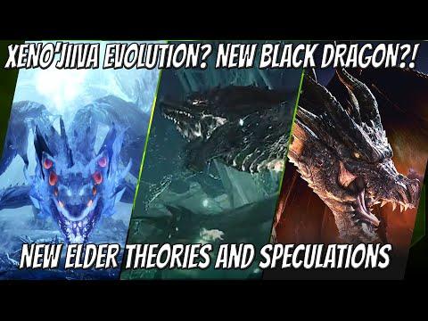 XENO'JIIVA EVOLUTION? NEW BLACK DRAGON?! - MHW: ICEBORNE New Elder Dragon Theories And Speculations