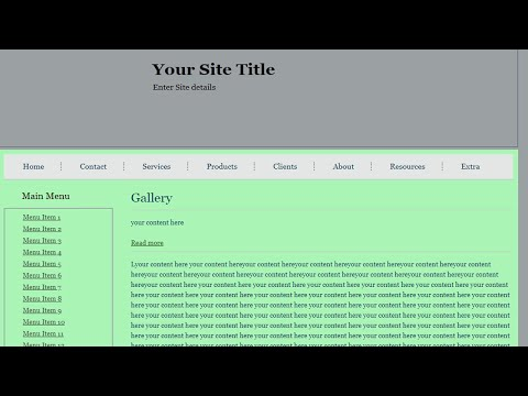 How To Design A Website Using Html And CSS With Example