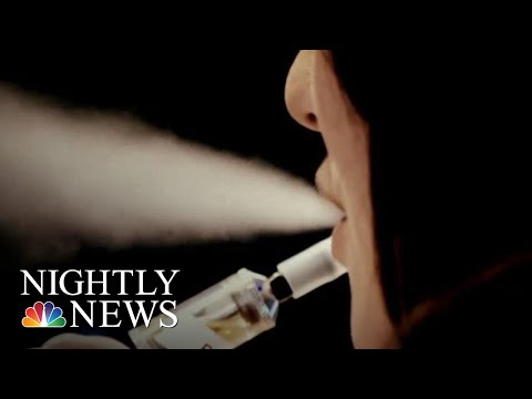FDA Releases First Anti-Vaping Ads Targeting Teens | NBC Nightly News