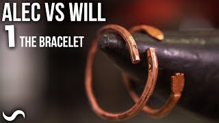 ALEC VS. WILL - MAKING A BRACELET IN AN HOUR!!!