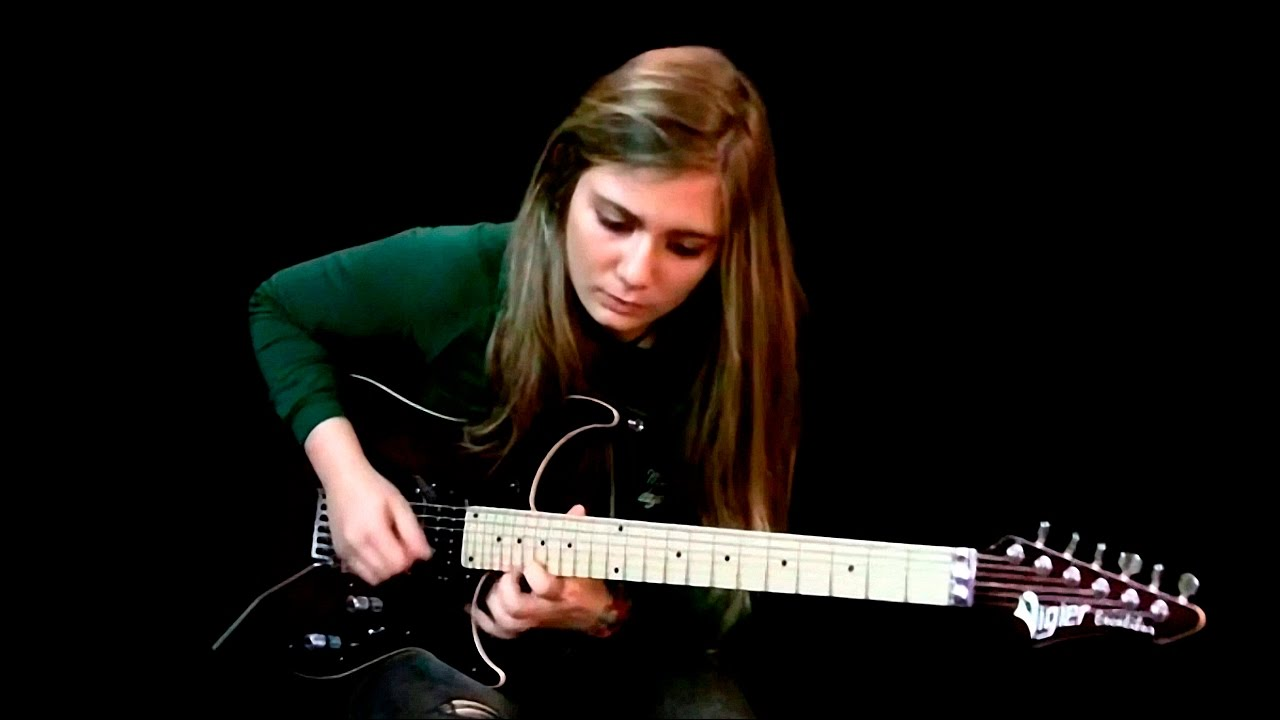 tina s amazing guitar player hd720p youtube. Black Bedroom Furniture Sets. Home Design Ideas