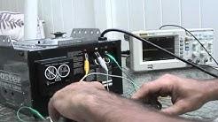 Bypass garage door safety sensor.wmv