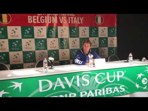 Conferenza stampa Paolo Lorenzi 9-4-2017