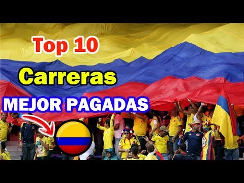 Top 10 Carreras Universitarias MEJOR PAGADAS En Colombia | D