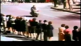 Un nuevo vídeo muestra toda la secuencia del asesinato de JFK 27Junio2013