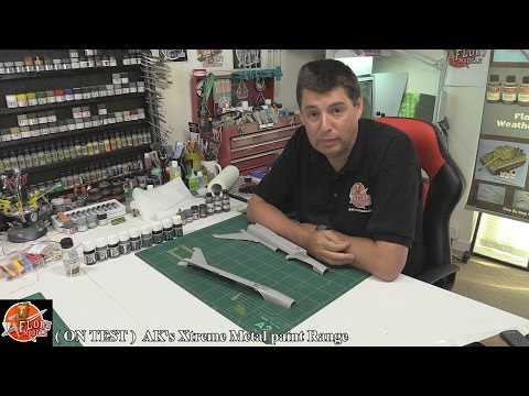 AK's Xtreme Metal paints Review