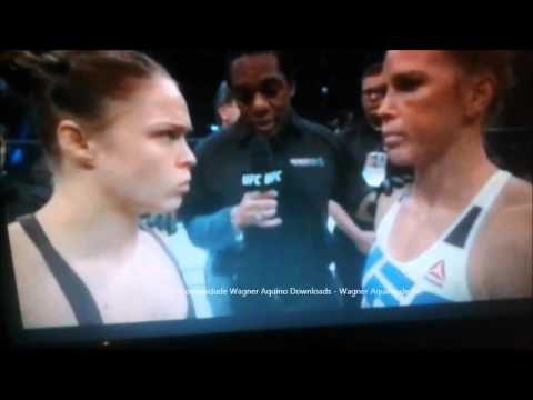 Ronda Rousey x Holly Holm - Luta Completa - 14/11/2015