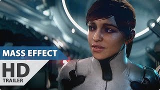 MASS EFFECT ANDROMEDA Gameplay Trailer (E3 2016)