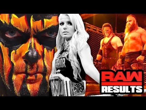 KANE ATTACKS THE SHIELD?! WWE Raw 10/16/17 REVIEW- Going in Raw Wrestling Podcast Ep 302