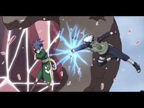 Naruto, Kakashi, Shino and Sai vs Guren and Gozu! [HD]