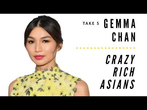 Crazy Rich Asians Star Gemma Chan Talks Crush And Eye Duration  Seconds Imdb