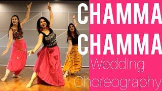 #chammachamma #nehakakkar CHAMMA EASY STEPS / WEDDING CHOREO/ STEPS FOR GIRLS/ RITU'S DANCE STUDIO