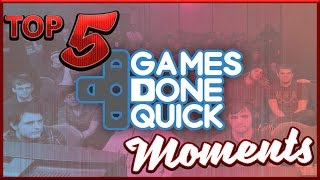 Top 5 Best Games Done Quick Moments  Feat. Heavy Eyed