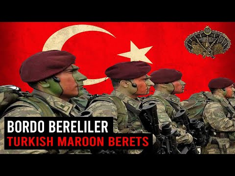 Turkish Special Forces in Action | The Maroon Berets ( Bordo Bereliler )