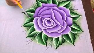 Rosa lilás p/3 com lia ribeiro