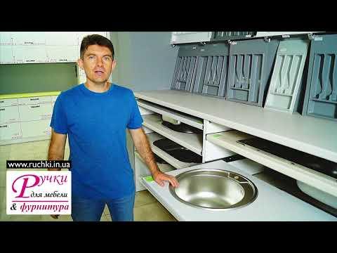 Кухонная мойка для из нержавейки КРУГЛАЯ 48 см.