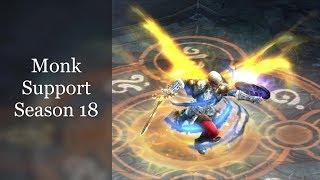 Monk Support ZMonk Group Meta Greater Rift Season 18 Guide