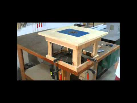 ... Simple Mobile Router Table - Cool 16000 Woodworking Plans - YouTube