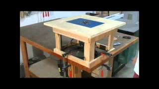 Woodworking Projects - Simple Mobile Router Table - Cool 16000 Woodworking Plans