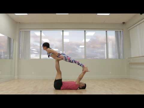 Beginner Acro Yoga Flow Sequence 2 Tutorial