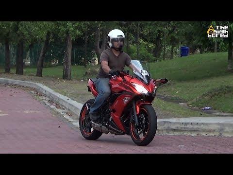 Kawasaki Ninja 650R Proformance full system exhaust