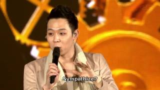 JYJ Concert in Tokyo Dome 2013  - YC Talk (Eng sub)