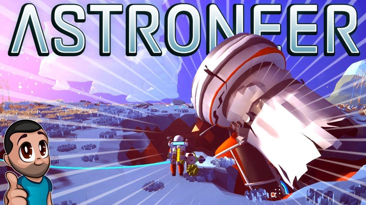 SALVAGING SPACE WRECKAGE - Astroneer First Steps on Steam PC - Single Player