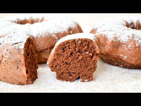 Шоколадный кекс в