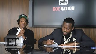 Meek Mill Launches Record Label With Jay-Z's Roc Nation