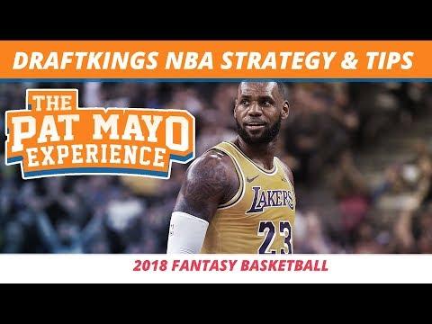 2018 DraftKings NBA Strategy, Stats, Tips, and DFS Fantasy Basketball Tools
