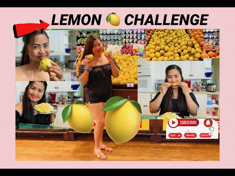 LEMON CHALLENGE! WHAT DO YOU THINK GUYS DID I PASS OR FAILED???COMMENT DOWN BELOW!