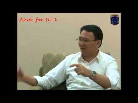 Basuki TP (Ahok) : Saya AHOK......jelas