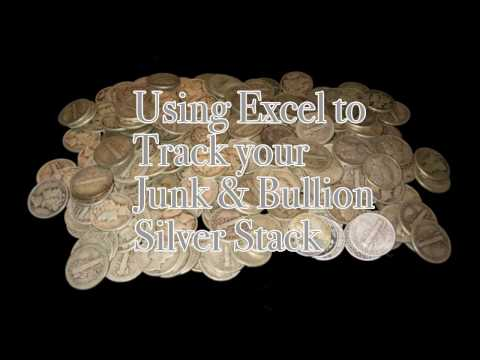 Tracking Your Silver Bullion and Junk Silver Investments Excel Tutorial [v. 1.0]