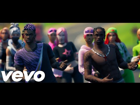 DaBaby - Rockstar feat. Roddy Ricch (Official Fortnite Music Video)   Pull Up Emote