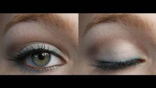 Cool Matte Makeup Look ♥ Blue and Brown Makeup Tutorial Thumbnail