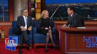 Stephen Is Starstruck By Eugene Levy and Catherine O'Hara