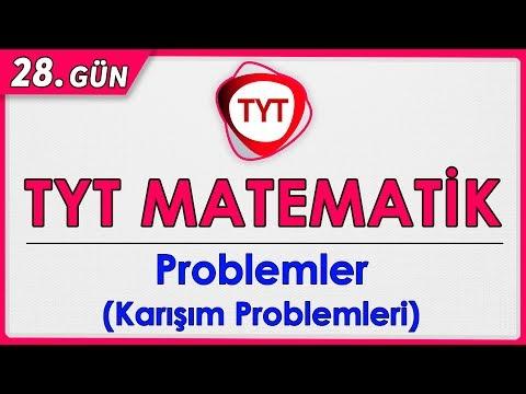 49 Günde TYT Matematik 28.Gün Karışım Problemleri Rehber Matematik #rmtayfa