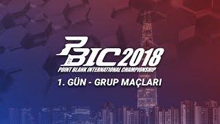 PBIC2018 - Seul / Kore Cumhuriyeti - 1. Gün Grup Maçları