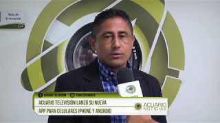 Gambar cover Acuario Televisión lanzó su nueva App para celulares IPhone y Android