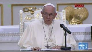 Przemówienie  Franciszka wygłoszone podczas spotkania z kapłanami w katedrze w Kownie