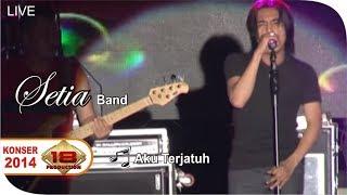 Live Konser ~ Setia Band - Aku Terjatuh @Sukabumi 22 Oktober 2014