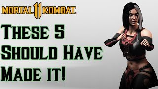 5 Characters that SHOULD have been in Mortal Kombat 11